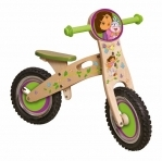 Dora jungle houten loop fiets